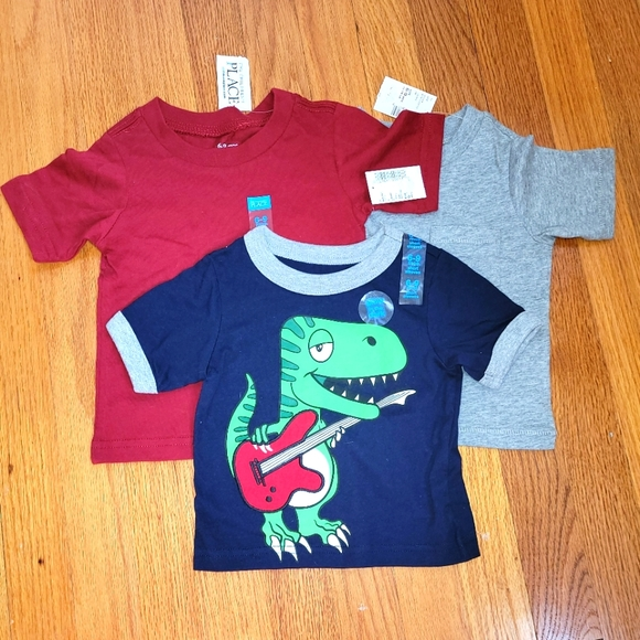 NWT Set of 3 Boys T-shirts size 6-9 months